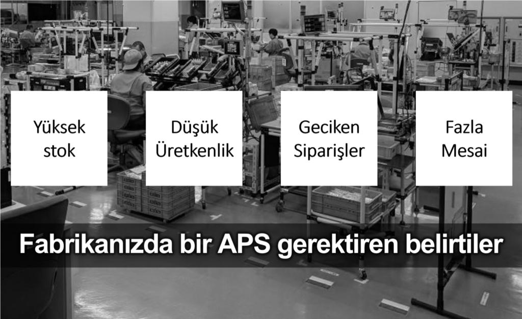 APS ileri planlama sistemi